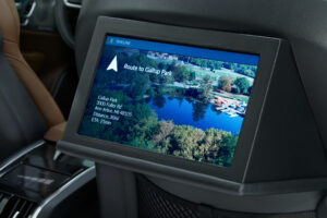 MEAA Rear Seat Entertainment - Center