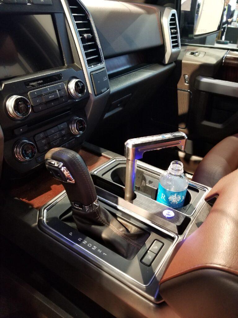 Watergen in the car