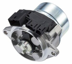 Electric Power Steering Motor with Integrated Controller