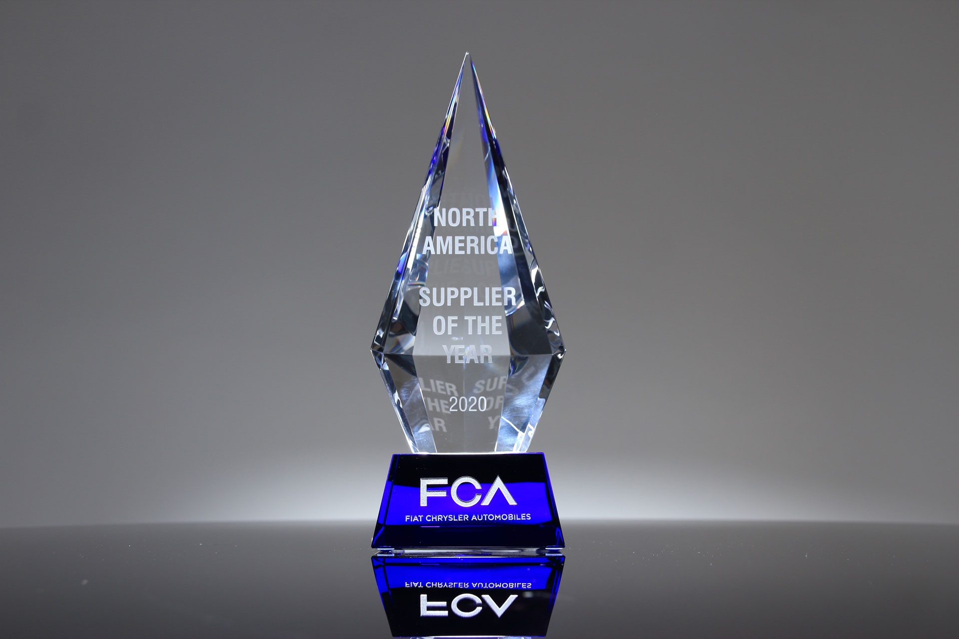 FCA Supplier of the Year Award