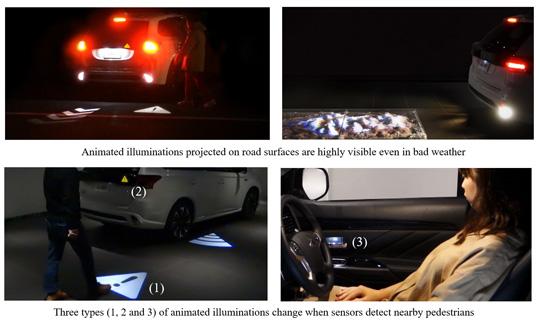 Ground-illuminating Indicators for Vehicles