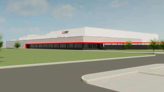 Image of new plant at MEAC